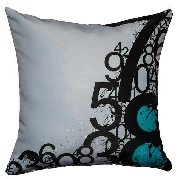 Throw Pillow With Numbers : Maxwell Dickson Numbers Throw Pillow - Free Shipping Today - Overstock.com - 15060091