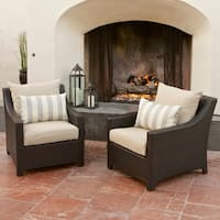 RST Brands Slate Club Patio Chair (Pack of 2)