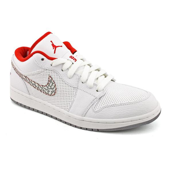 Nike Men's 'Air Jordan 1 Phat Low' Leather Casual Shoes