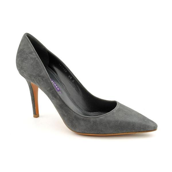 Ralph Lauren Women's 'Elsina' Kid Suede Dress Shoes