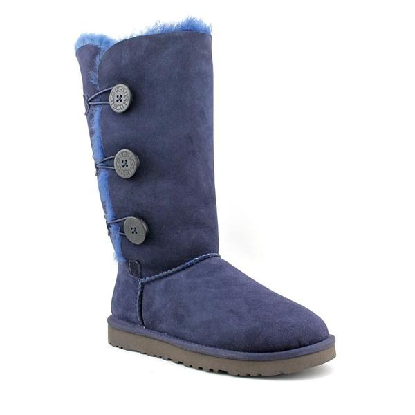 Ugg Australia Women's 'Bailey Button Triplet' Regular Suede Boots