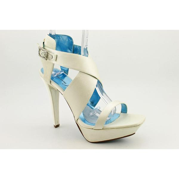 Lauren Jones Women's 'Janice' Satin Sandals