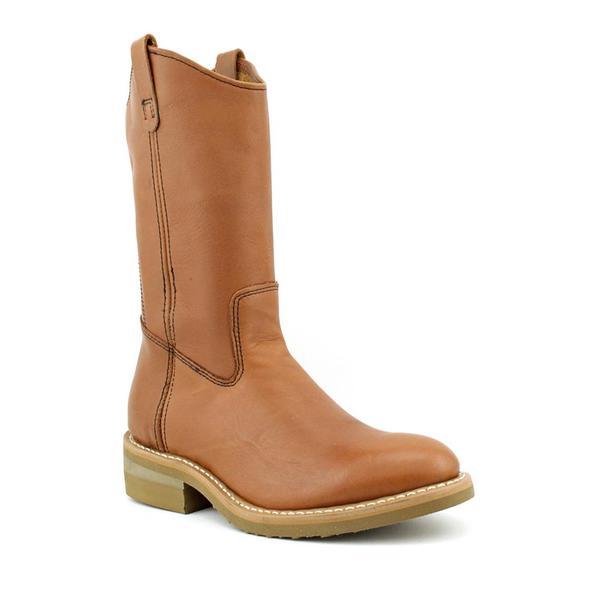 Mason Shoe Men's 'West Work Wellington' Leather Boots (Size 7.5)