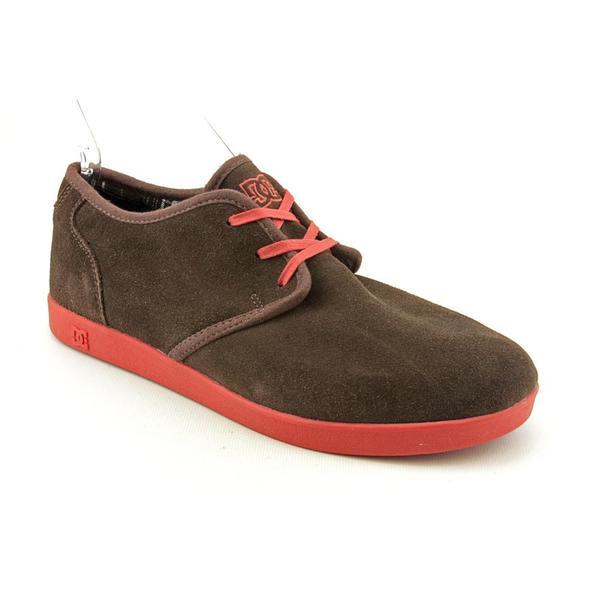 DC Men's 'Village Low' Regular Suede Athletic Shoe (Size 10.5)