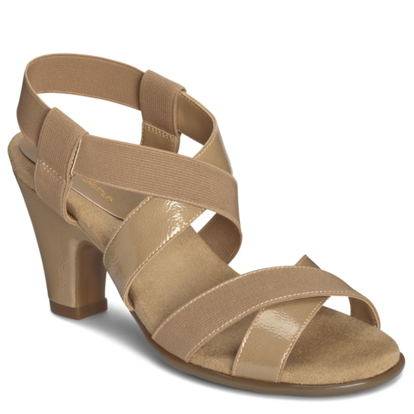 A2 by Aerosoles Women's 'Kaleidescope' Tan Strappy Sandals