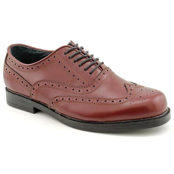 Dressabout Men's '600657' Leather Dress Shoes - Extra Wide