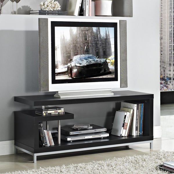 Black 45-inch Plasma TV LCD Stand/ Media Console