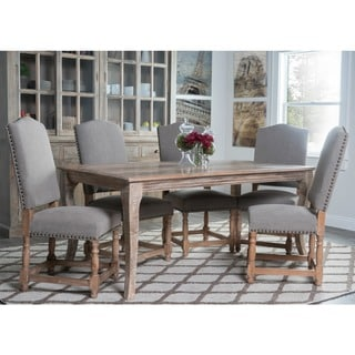 Kosas Home Redford Dining Chair - Stone Wash Light Grey