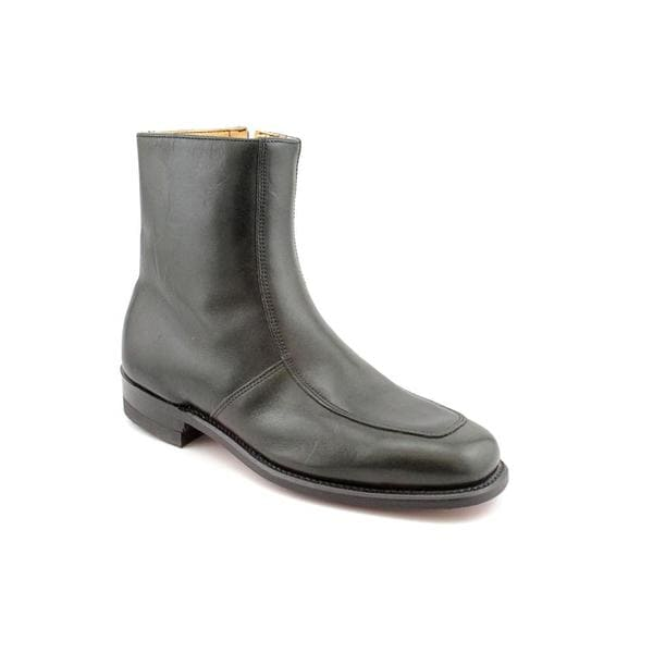 Executive Imperials Men's 'Suit Up' Leather Boots - Wide (Size 7.5)