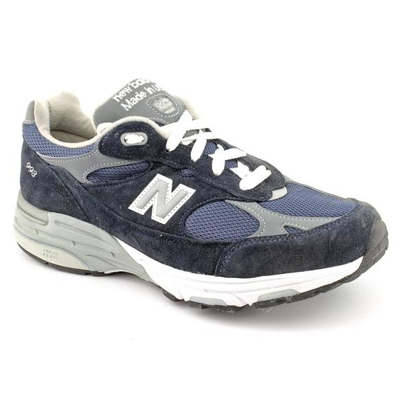 New Balance Men's 'WR993' Leather Athletic Shoe (Size 8.5)