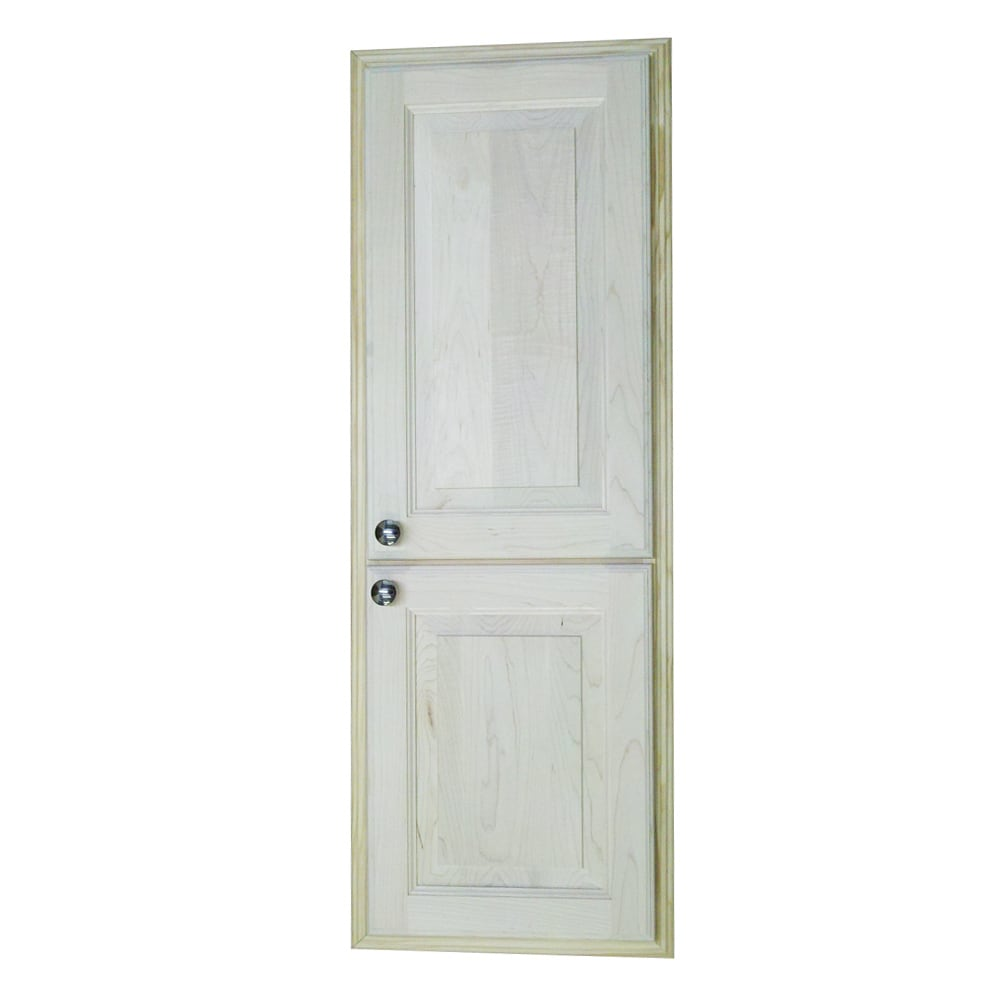 WG Wood Products 42-inch Recessed in the Wall Baldwin Med...