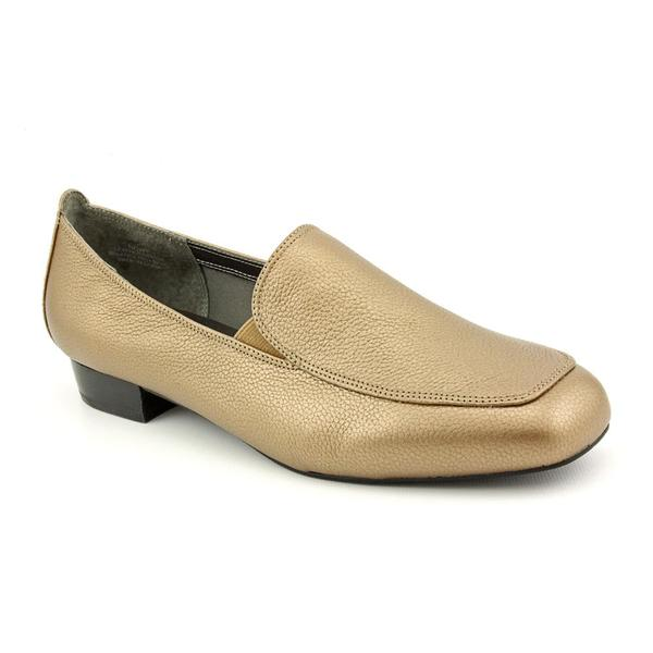 David Tate Women's 'Sadie' Leather Casual Shoes - Wide