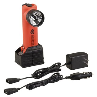 Streamlight Survivor Orange LED Flashlight With AC/DC Holder