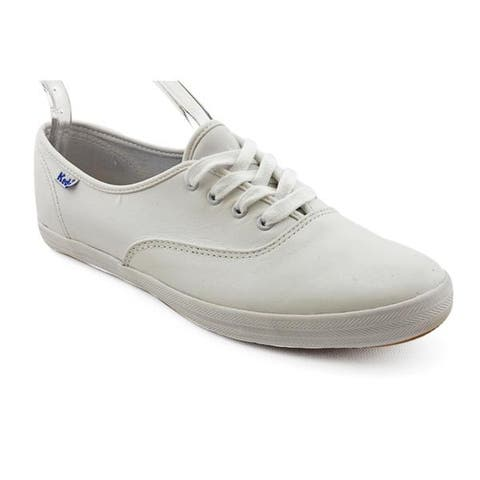 Keds Women's 'Champion Oxford CVO' Leather Casual Shoes - Wide (Size 9.5)