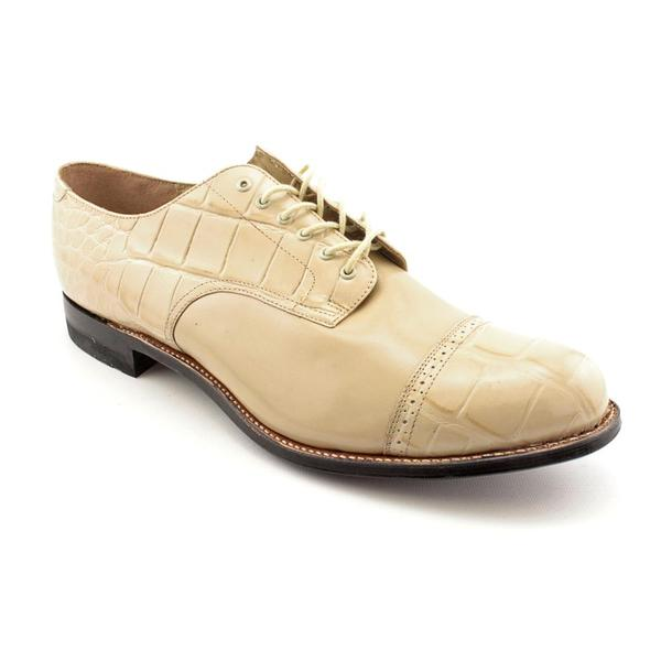 Stacy Adams Men's 'Madison' Leather Dress Shoes (Size 13)