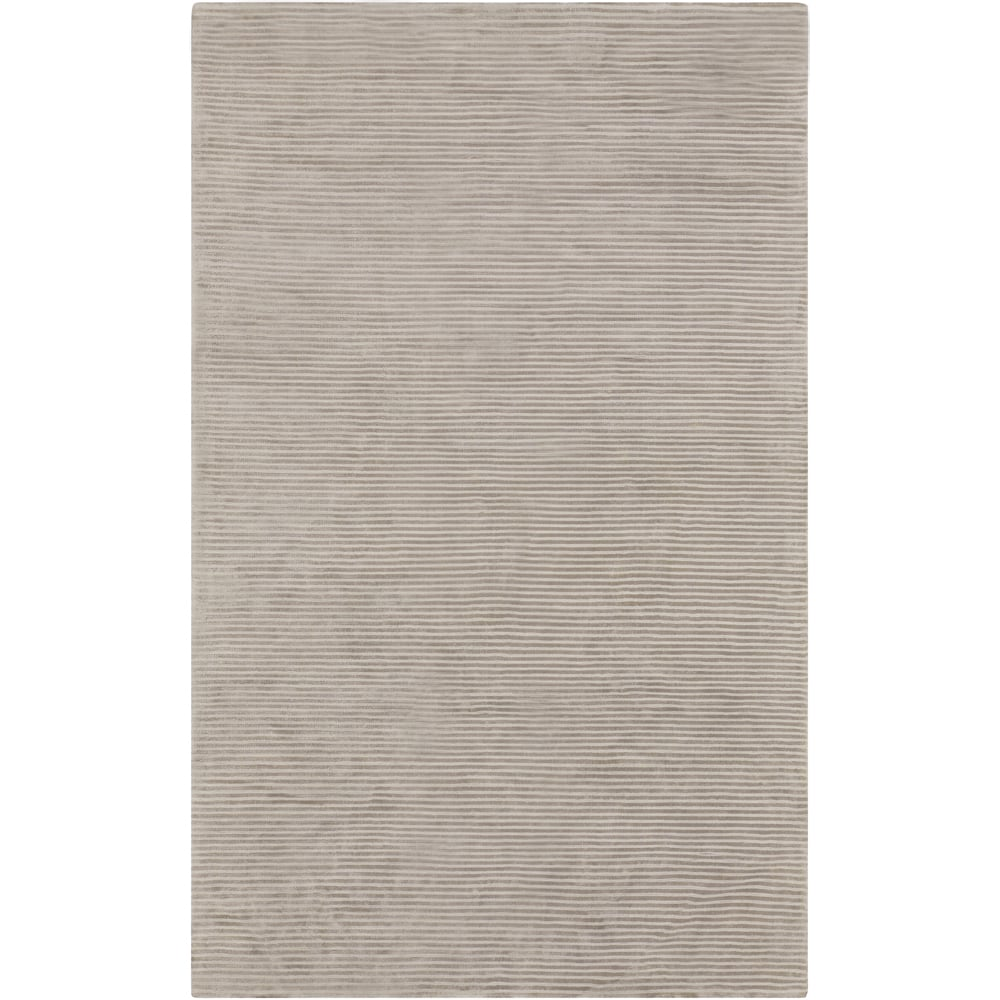 AEARO Hand-crafted Beige Solid Casual Cabot Rug (2' x 3')...