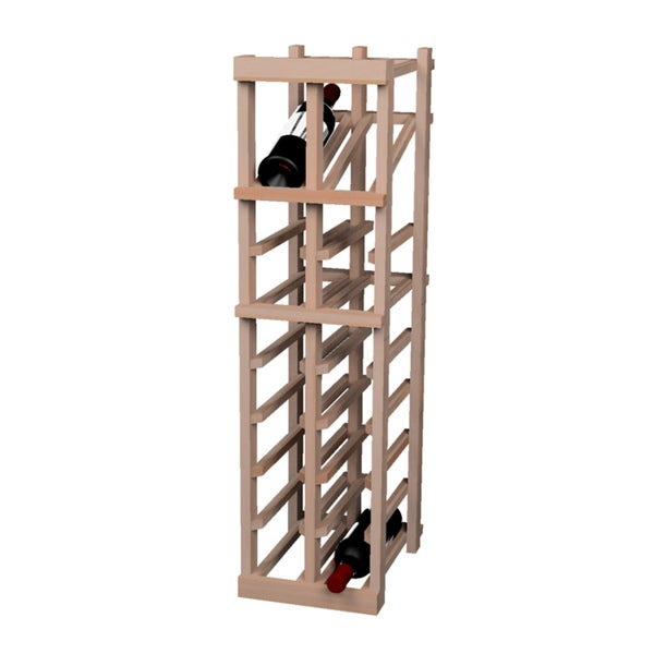 Vintner Series 18-bottle Wine Rack with Display Shelf