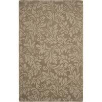 Safavieh Handmade Fern Scrolls Brown New Zealand Wool Rug - 3' x 5'