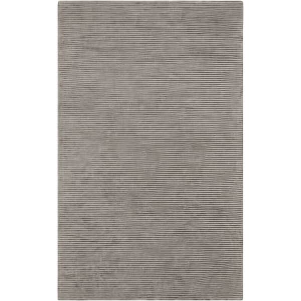 Hand-crafted Beige Solid Casual Coventry Area Rug - 5' x 8'