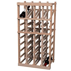 Vintner Series 36-bottle Wine Rack with Display Row