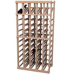 Vintner Series 60-bottle Wine Rack with Display Shelf