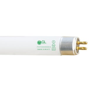 Goodlite F54T5/850/HO/ECO 54-watt 45.80-inch T5 Linear Fluorescent Lamp Mini Bi Pin Base Super White 5000K, 40-pack