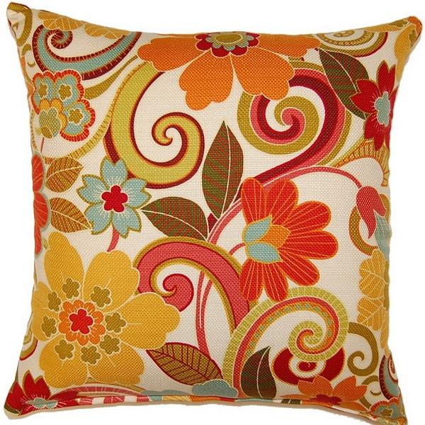 Zavalla Rainbow 26-inch Floor Pillow