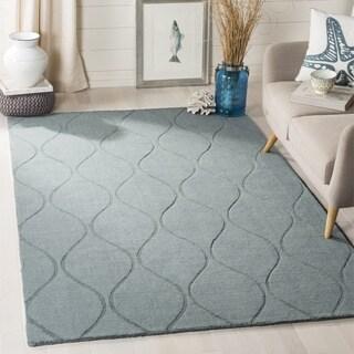 Safavieh Handmade Timeless Grey New Zealand Wool Rug (4' x 6')