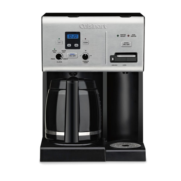 Cuisinart CBCW-24FR Coffee Plus 12-Cup Programmable Coffee Maker (Refurbished)
