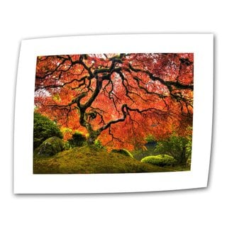 John Black ' Japanese Tree ' Flat Canvas