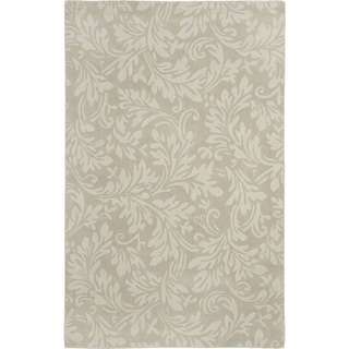 Safavieh Handmade Fern Scrolls Sage New Zealand Wool Rug (3' x 5')