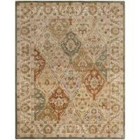 Safavieh Handmade Bakhtieri Multi/ Beige Wool Rug - 5' x 8'