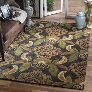 Safavieh Handmade Metro Majestic Gardens Beige New Zealand Wool Rug (4' x 6')