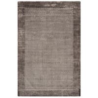 Safavieh Handmade Mirage Modern Border Grey Viscose Rug - 8' x 10'