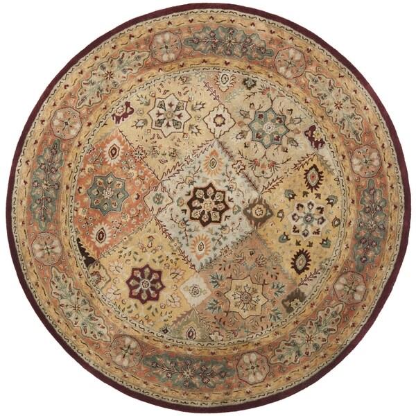 Safavieh Pl537a Persian Legend Wool Hand Tufted Rust Navy: Shop Safavieh Handmade Persian Legend Diamonds Multi/ Rust