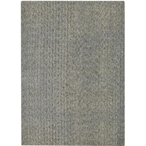 Safavieh Handmade Mirage Modern Slate Grey Viscose Rug (9' x 12')