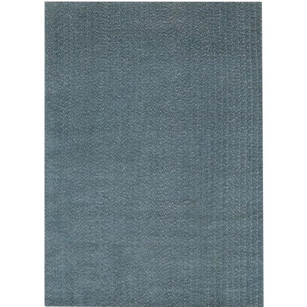 Safavieh Handmade Mirage Modern Blue Viscose Area Rug (8' x 10')