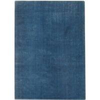 Safavieh Handmade Mirage Modern Blue Viscose Rug - 6' x 9'