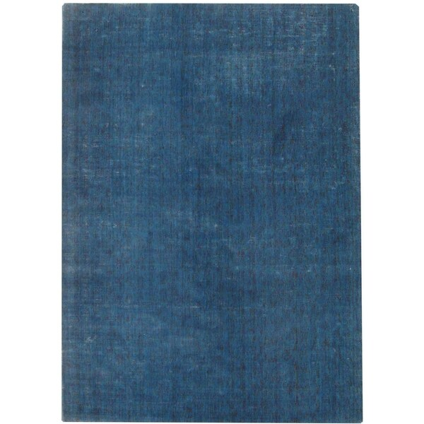 Safavieh Handmade Mirage Modern Blue Viscose Rug - 9' x 12'