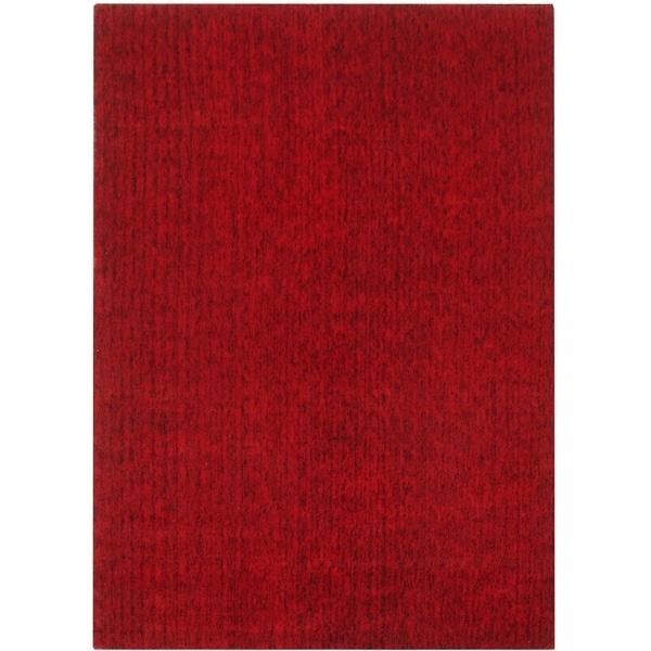 Safavieh Handmade Mirage Modern Red Viscose Rug - 8' x 10'