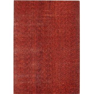 Safavieh Handmade Mirage Modern Rust Viscose Rug (8' x 10')