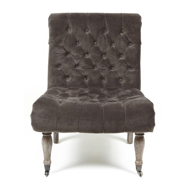 Kosas Home Duchess Warm Grey Accent Chair