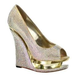 Women's Pleaser Day & Night Razzle 660RS Gold Satin (2 options available)