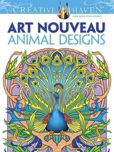 Art Nouveau Animal Designs (Paperback)