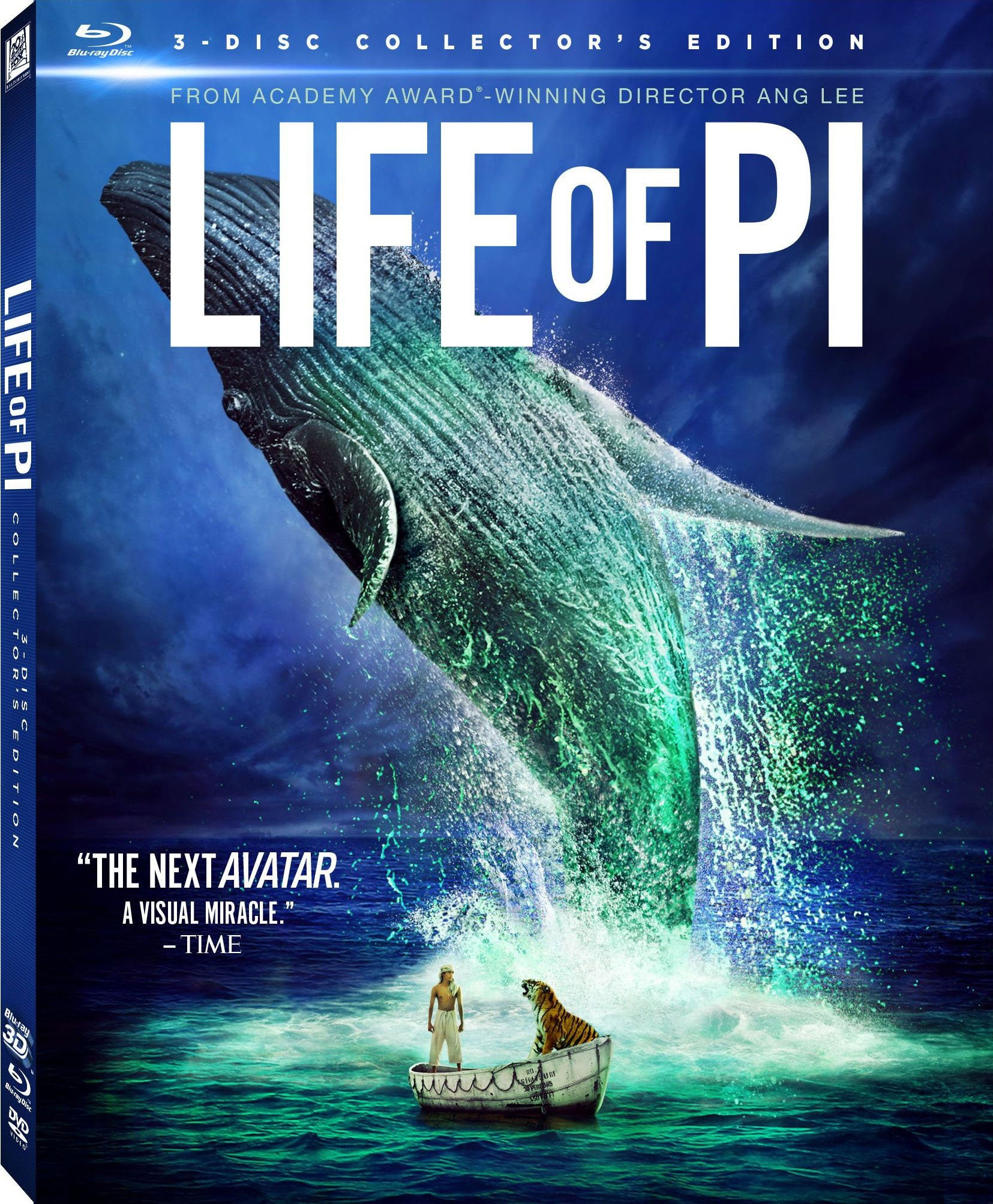 Life of Pi 3D (Collector's Edition) (Blu-ray/DVD) - Thumbnail 0