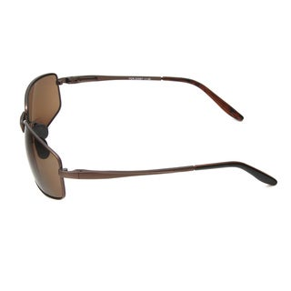 Hot Optix Men's Metal Wrap Bi-focal Reading Sunglasses