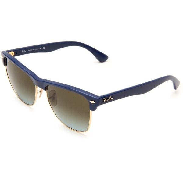 Ray-Ban Women's 'Clubmaster' Matte Blue Wayfarer Sunglasses