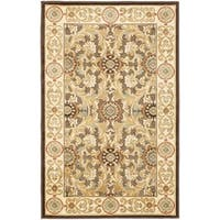 Safavieh Paradise Eden Tranquil Brown/ Ivory Viscose Rug (8' x 11' 2)
