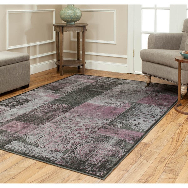 Safavieh Paradise Charcoal Grey Viscose Rug (8' x 11' 2)