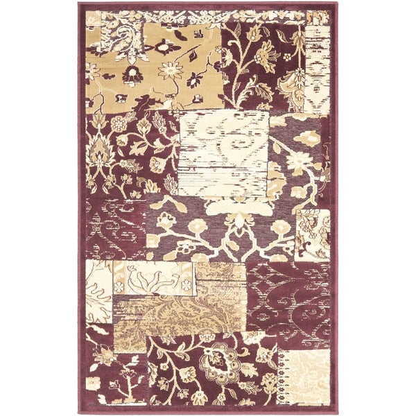 Safavieh Paradise Red Viscose Rug (2' 7 x 4')